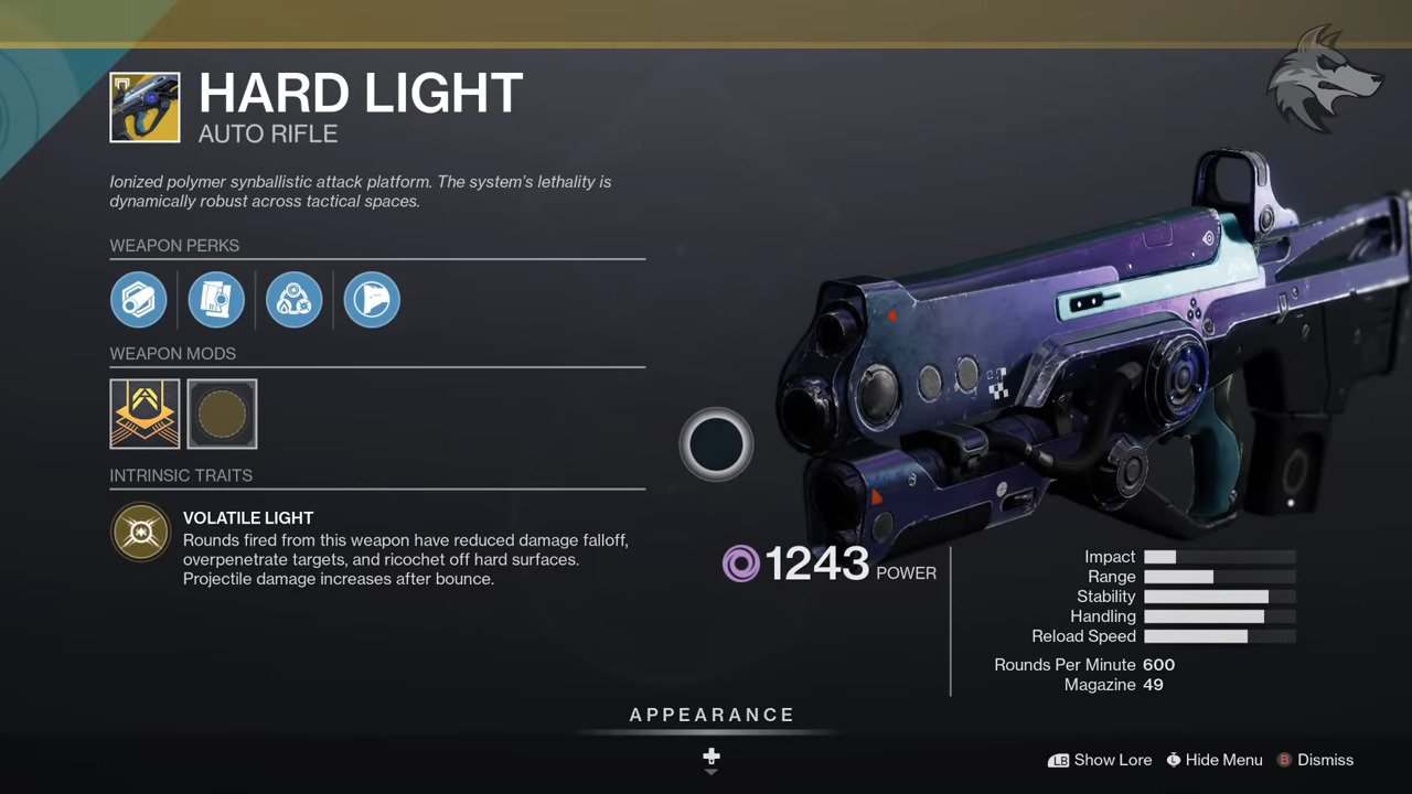 Destiny 2: Xur Returns From 11/27 Until 12/01 With The Hardlight Auto Rifle In Stock