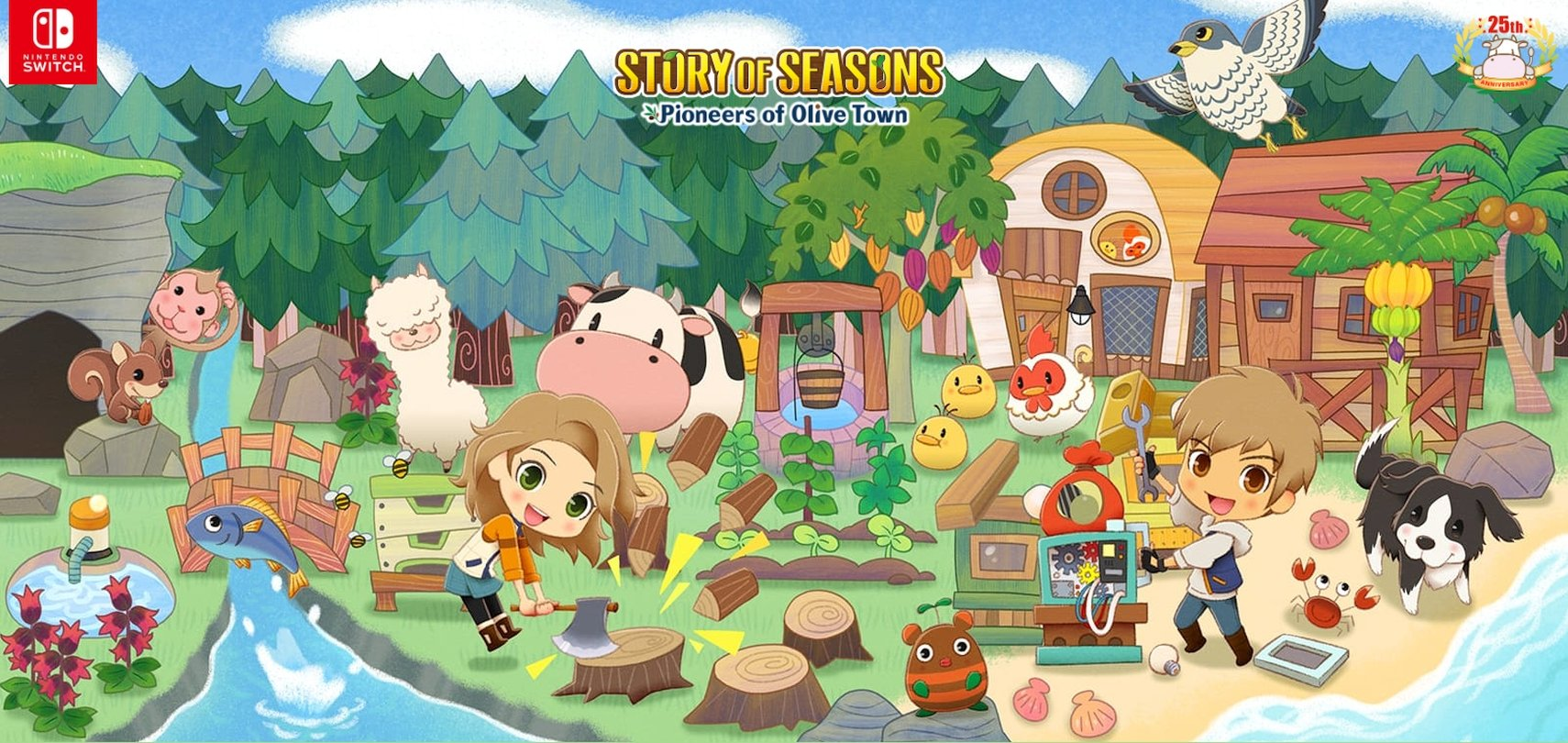 Learn More About Story of Seasons: Pioneers of Olive Town In New Overview Trailer
