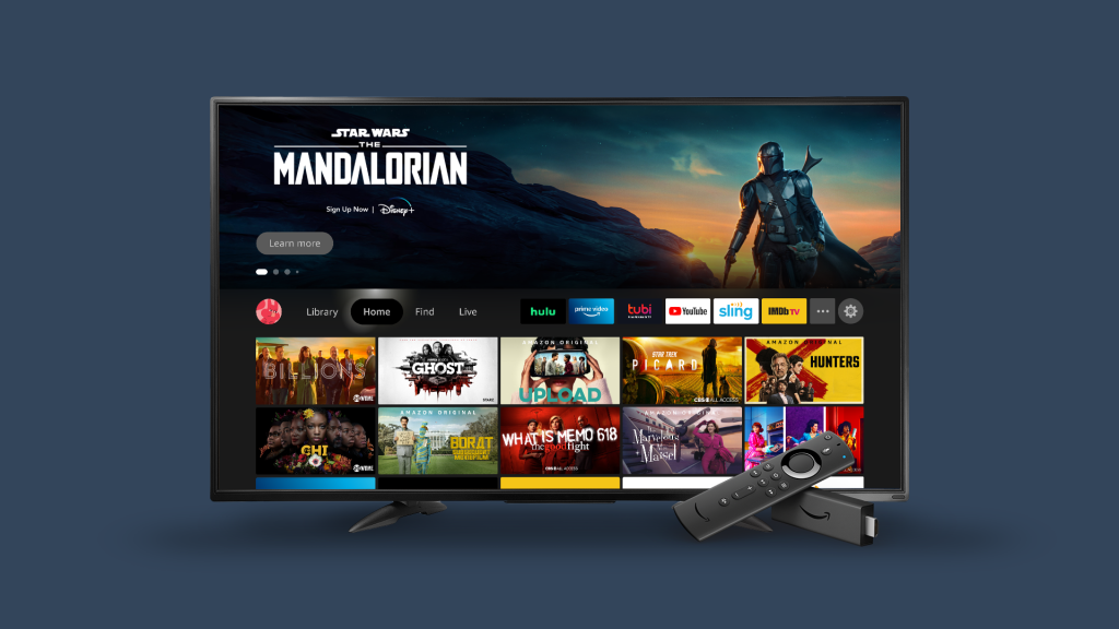 Amazon Fire TV Updates Look And Feel, Reports 50M Global Monthly Active Users