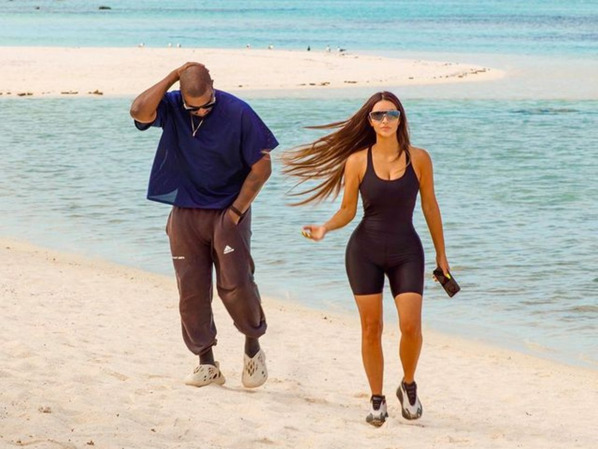 Kim Kardashian And Kanye West Are Living Separate Lives As Divorce Rumors Continue To Loom, Report